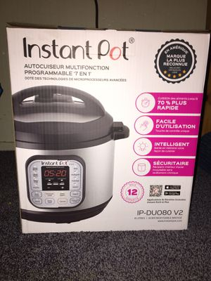 Instant Pot 8quart 7 in 1 Pressure Cooker Brand New in Box for Sale in El Sobrante, CA