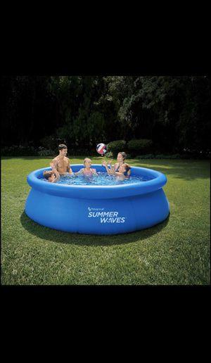 Summer Waves Quick Set Pool for Sale in Burke, VA