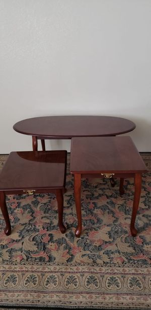 COFFEE TABLE TWO END TABLES for Sale in Modesto, CA
