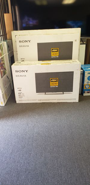 "49"" SONY BRAVIA UHD 4K SMART for Sale in City of Industry, CA"