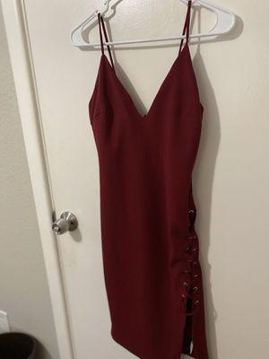 FashionNova Maroon Bodycon Dress for Sale in Garland, TX