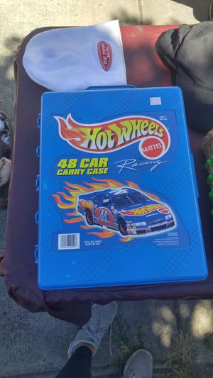 HotWheels case with over 60 cars for Sale in Portland, OR