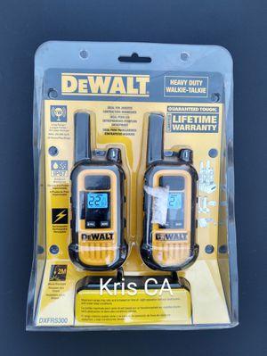 Dewalt heavy duty walkie talkie for Sale in La Puente, CA