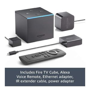 Fire TV Cube, hands-free with Alexa built in, 4K Ultra HD, streaming media player, released 2019 for Sale in Dallas, TX