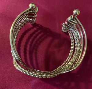 Silver Cuff Bracelet for Sale in Winston-Salem, NC