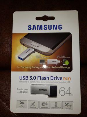 New Samsung USB 3.0 Flash Drive Duo 128GB for Sale in Lynchburg, VA