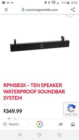 New marine utv sound bar for Sale in Watsontown, PA