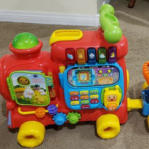 Train, VTech Ride/ Push Educational Toy for Sale in Whittier, CA