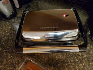Hamilton beach indoor electric grill for Sale in Morgantown, WV