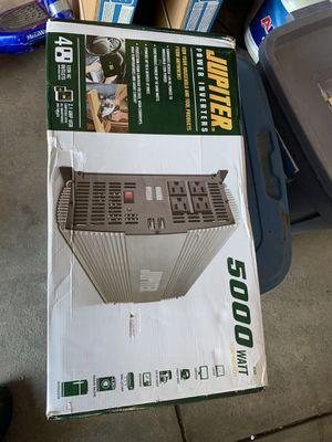 Brand new 5000w power inverter for Sale in Aurora, CO