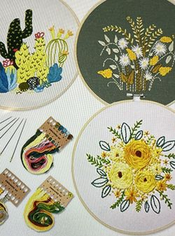 2 New Embroidery Kits for Sale in Redmond,  WA