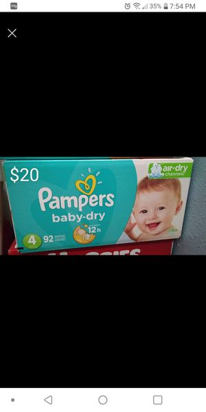 Pampers size 4 for Sale in Austin, TX
