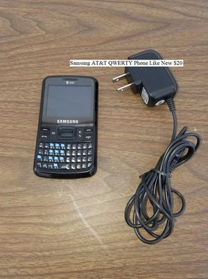 Samsung AT&T QWERTY Phone Like New $20 for Sale in Dresden, OH