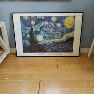 Van Gogh Starry Night Picture for Sale in Tampa, FL