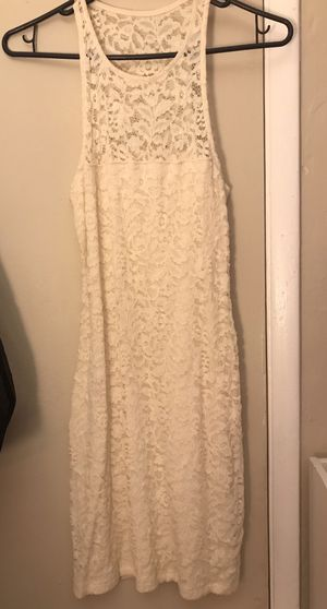 Hollister Cream Lace Dress for Sale in Los Angeles, CA