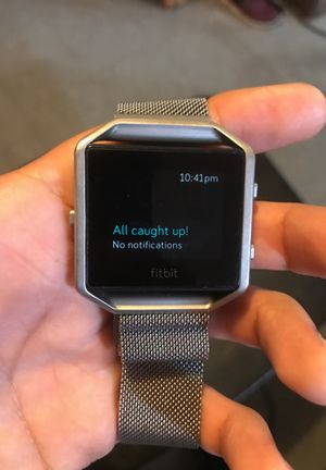 Fitbit Blaze w/ stainless Steel band for Sale in San Diego, CA