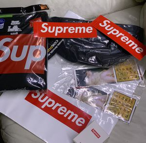 SUPREME ALL AUTHENTIC BRAND NEW waist bag and more for Sale for sale  Queens, NY