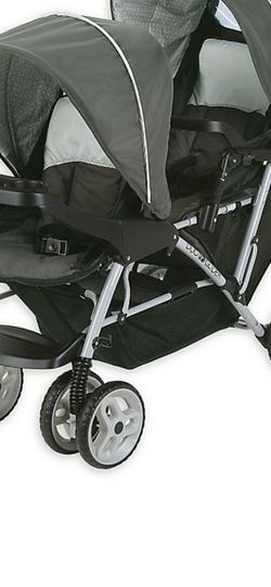 New Graco DuoGlider Click Connect Double Stroller in Glacier for Sale in Fresno,  CA