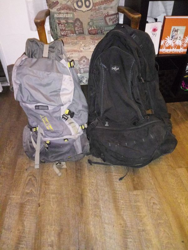 2 Hiking Backpacks $30 for both