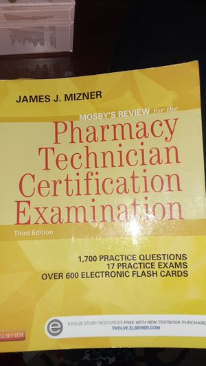Pharmacy tech book 3rd edition for Sale in Tampa, FL