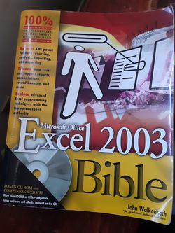 Microsoft Excel 2003 Bible for Sale in Torrance,  CA