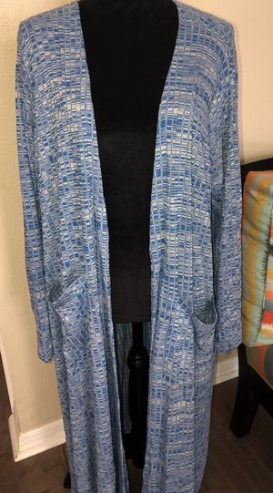 Gently used Lularoe XL (size 18-20) Sarah Cardigan sweater with pockets ~ Retails for $70 for Sale in Largo, FL