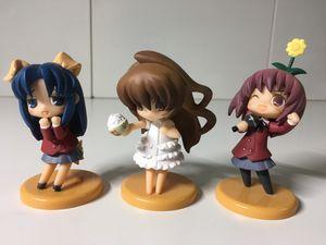 Toys Works Niitengo Toradora Anime Figures Aisaka Taiga Ami Minori Kushieda for Sale in Tacoma, WA