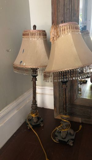 Antique looking lamps for Sale in Redlands, CA