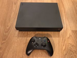 Xbox one x with games for Sale in Cleveland, OH