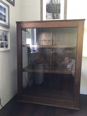 Antique Glass Cabinet for Sale in Boynton Beach, FL