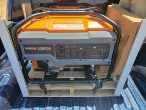 Xc6500 generac generators for Sale in Monahans, TX