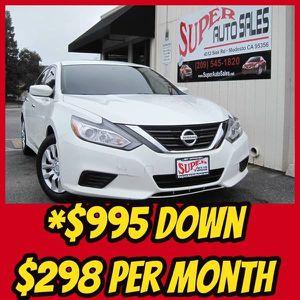 2016 Nissan Altima for Sale in Modesto, CA