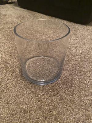 Glass circle vase, set of 2 for Sale in Draper, UT