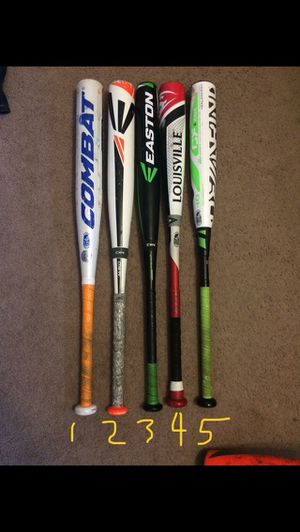 USSSA bats / travel ball / Baseball make reasonable offers for Sale in Lathrop, CA