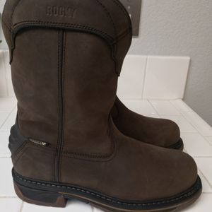 Brand new Rocky Composite toe Work Boots Size 9 for Sale in Riverside, CA