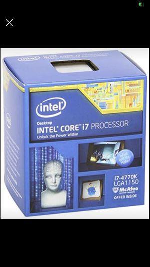 Intel i7 4770k for Sale in Parkersburg, WV