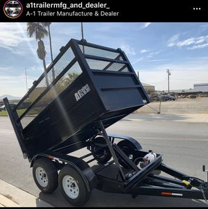 Dump Trailer 5x8x4 for Sale in Riverside, CA