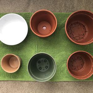 Various Planting Pots for Sale in Newport News, VA