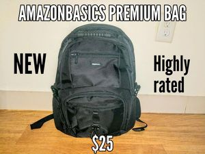 """Amazonbasics Premium Backpack- supports 15"""" laptop for Sale in Chelsea, MA"""