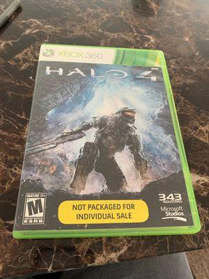 Xbox 360 Game Halo 4 for Sale in Stafford, VA
