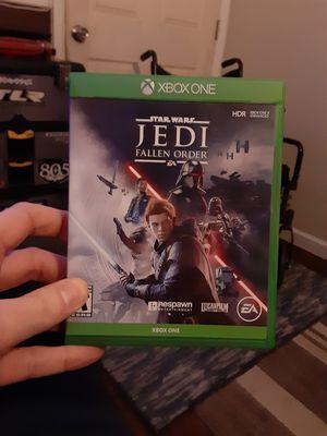 Xbox one game star war jedi fallen order xbox one for Sale in Manteca, CA