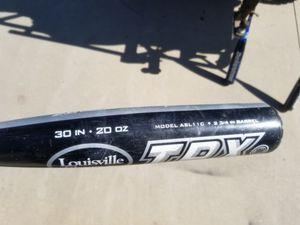 Baseball bats, catcher's helmet, shin guards, knee savers for Sale in Fontana, CA