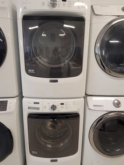 Maytag Front Load Washer And Electric Dryer Set Used In Good Condition With 90day's Warranty for Sale in Washington,  DC