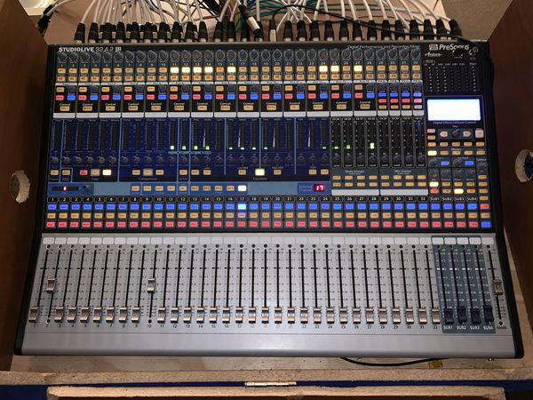 Presonus 32.4.2 Digital Mixer
