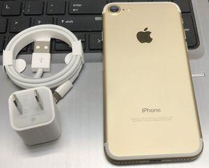 iPhone 7 128GB Factory Unlocked-Gold for Sale in Hoboken, NJ