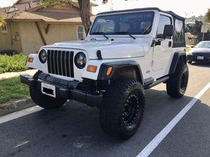 1999 Jeep Wrangler TJ for Sale in Chula Vista, CA