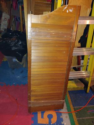 Solid wood saloon doors for Sale in Sanger, TX
