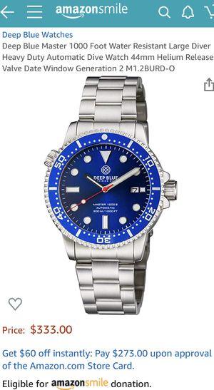 Deep Blue Luxury Watch - $260 FIRM for Sale in Herndon, VA