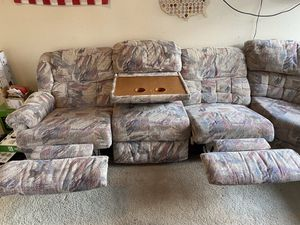 Large Reclining Sectional for Sale in Phoenix, AZ
