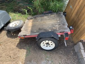 Trailer with attachable storage box for Sale in San Diego, CA